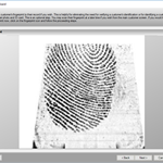 New Customer Wizard - Fingerprint